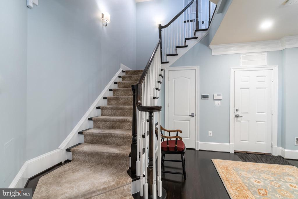 Entry stairs - 1845 POTOMAC GREENS DR, ALEXANDRIA
