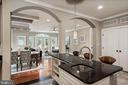 Kitchen Island with View to Informal Dining Area - 4389 OLD DOMINION DR, ARLINGTON