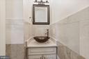 Powder Room on Main Level - 4389 OLD DOMINION DR, ARLINGTON