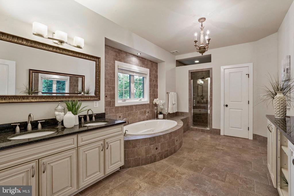 Main Level Master Bathroom - 4389 OLD DOMINION DR, ARLINGTON