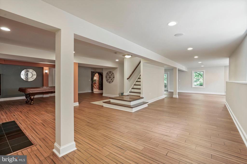 Expansive Lower Level Rec Rooms - 4389 OLD DOMINION DR, ARLINGTON