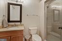 Lower Level Full Bathroom - 4389 OLD DOMINION DR, ARLINGTON
