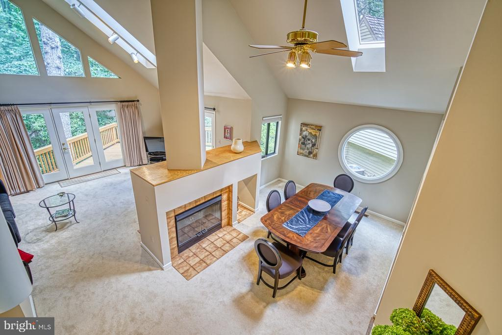 View of Dining & Living Room - 11517 TURNBRIDGE LN, RESTON