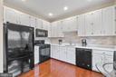 Recently updated kitchen w/new custom backsplash - 47572 COMER SQ, STERLING