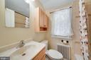 Renovated bathroom! - 3707 KEMPER RD, ARLINGTON
