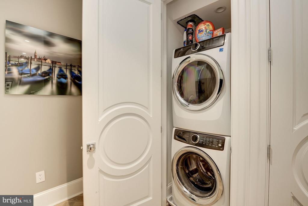 Laundry and storage - 1313 R ST NW #1, WASHINGTON