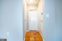 Entryway leading  to walk-in closet and bathroom - 2720 WISCONSIN AVE NW #206, WASHINGTON