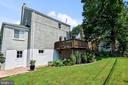 landscaped yard and entry to garden storage - 3616 ARLINGTON BLVD, ARLINGTON