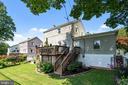 big deck with steps to yard for sports, gardening - 3616 ARLINGTON BLVD, ARLINGTON