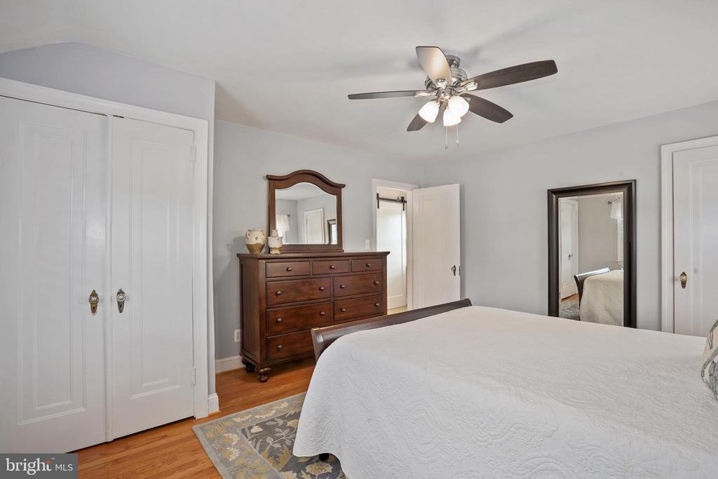 two large closets in primary bedroom - 3616 ARLINGTON BLVD, ARLINGTON