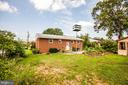 Rear view of home - all brick! - 6920 RUSKIN ST, SPRINGFIELD