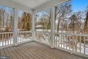 Back Exterior - Option Screened Porch - 11950 HONEY GROVE TRL, NOKESVILLE