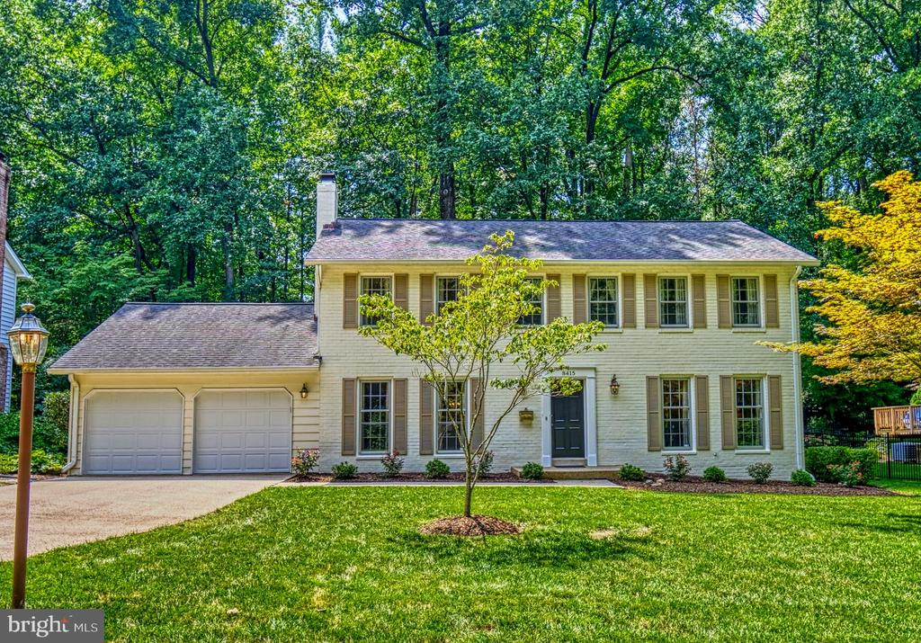 Stately Winterset Colonial - 8415 FROST WAY, ANNANDALE