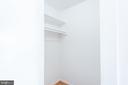 Walk-In Coat Closet & Storage Space - 9039 SLIGO CREEK PKWY #1610, SILVER SPRING