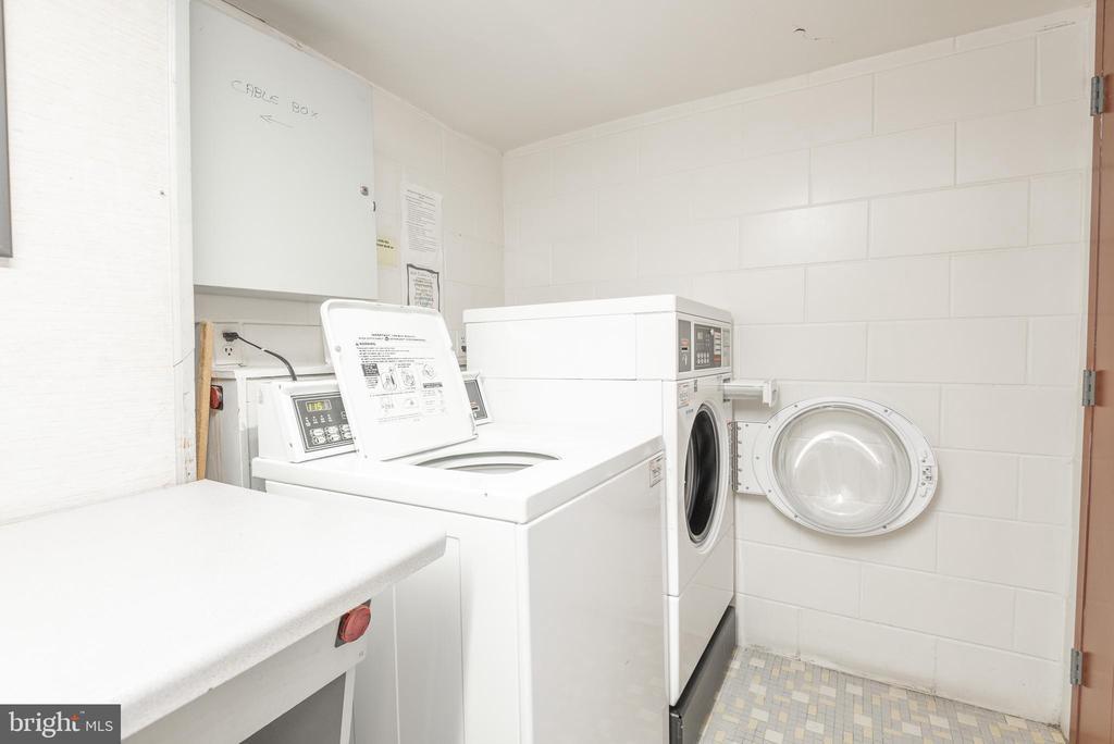 A Laundry Room on Each Floor - 9039 SLIGO CREEK PKWY #1610, SILVER SPRING