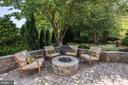 Custom Patio | Fire Pit - 11007 COUNTRY CLUB RD, NEW MARKET