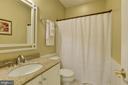 Lower Level Full Bath - 11007 COUNTRY CLUB RD, NEW MARKET