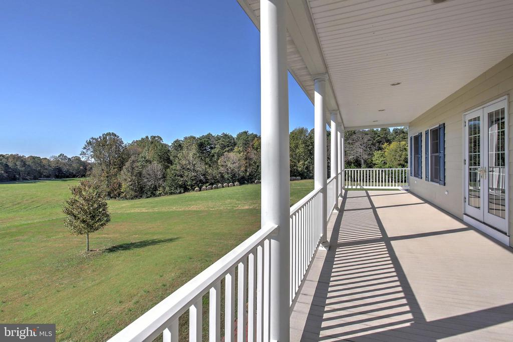 From the 2nd Floor balcony to the River - 2921 DUCKER DR, LOCUST GROVE