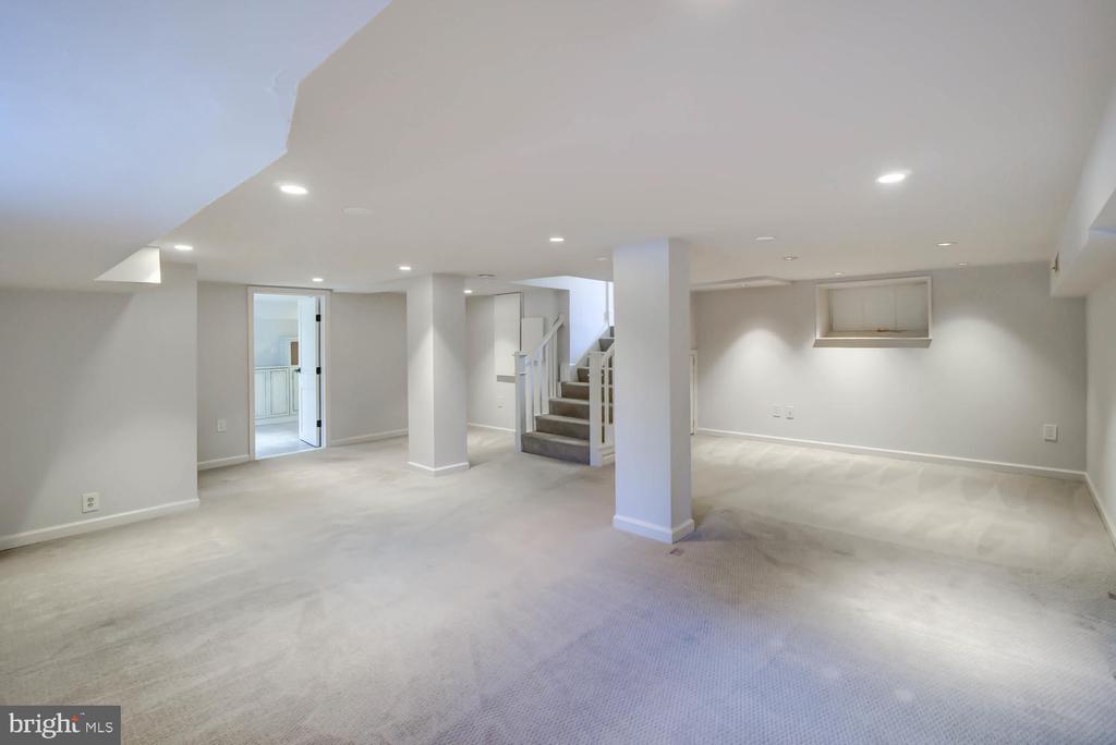 Finished basement - 2900 FRANKLIN RD, ARLINGTON