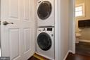STACKABLE  WASHER / DRYER ON SECOND LEVEL - 784 N VERMONT ST, ARLINGTON