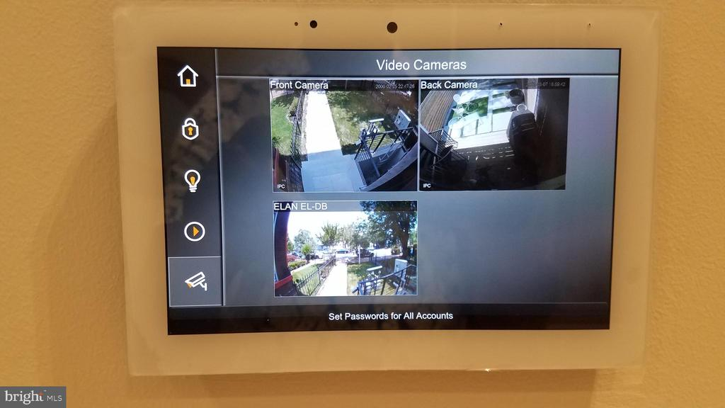 Front & Rear Security Cameras + Motion Detectors - 1530 3RD ST NW #2, WASHINGTON