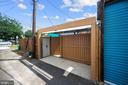Add'l secure space for shed, trash & recycle bins - 332 CHANNING ST NE, WASHINGTON