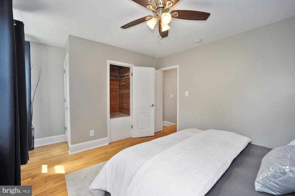 Two closets in MBR,  one is cedar-lined - 332 CHANNING ST NE, WASHINGTON