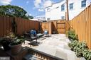 Large, private entertaining patio space with shed - 332 CHANNING ST NE, WASHINGTON