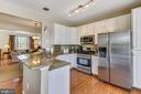 Fabulous kitchen with granite counters! - 43496 GREENWICH SQ, ASHBURN