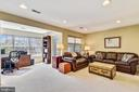Large recreation area with bumpout - 43496 GREENWICH SQ, ASHBURN