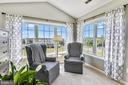 Sitting room with view of the common area - 43496 GREENWICH SQ, ASHBURN