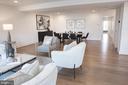 Expansive Living-Dining Area South - 645 MARYLAND AVE NE #201, WASHINGTON