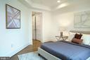Center Bedroom East - 645 MARYLAND AVE NE #201, WASHINGTON
