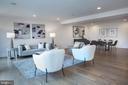 Living-Dining Area Southeast - 645 MARYLAND AVE NE #201, WASHINGTON