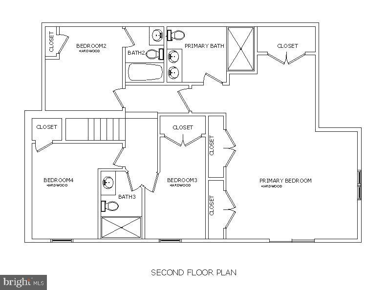 Second Floor Plan - 5148 11TH ST S, ARLINGTON