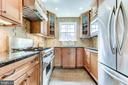 High end appliances and ample counter space - 833 S FAIRFAX ST, ALEXANDRIA