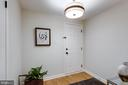 Bright entry foyer with separate coat closet - 1741 N TROY ST #8-430, ARLINGTON