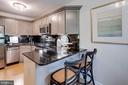 And lots of counter space for meal prep... - 1741 N TROY ST #8-430, ARLINGTON
