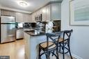 and seating options - 1741 N TROY ST #8-430, ARLINGTON