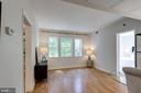 Living Room seen from Foyer shows generous space - 1741 N TROY ST #8-430, ARLINGTON