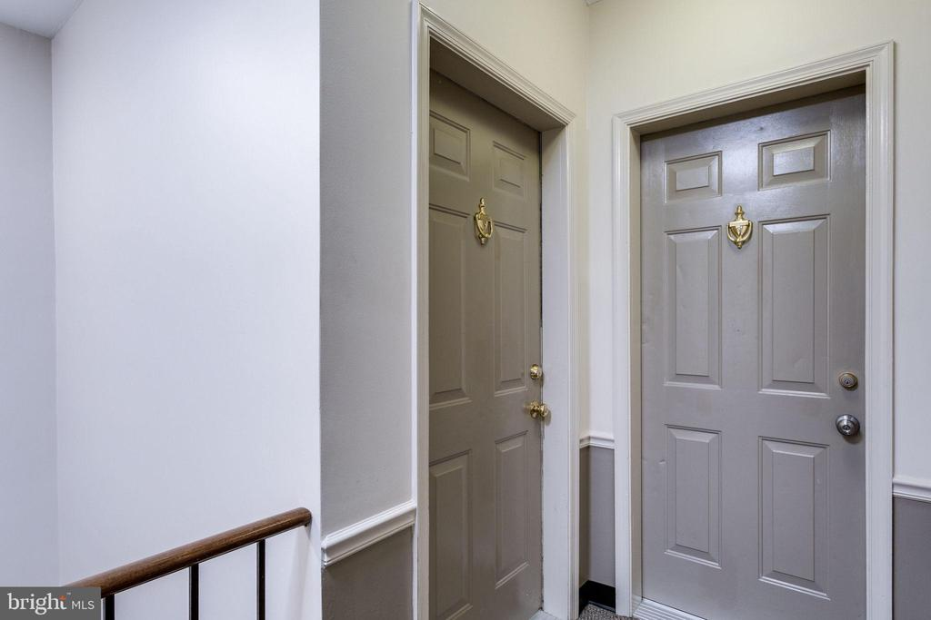 Unit is located on the top floor - 1741 N TROY ST #8-430, ARLINGTON