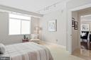 Bedroom two with so much light! - 5630 WISCONSIN AVE #905, CHEVY CHASE