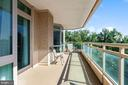 Balcony - 5630 WISCONSIN AVE #905, CHEVY CHASE