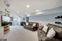Family Room - SUPER Large & Spacious! - 7326 RONALD ST, FALLS CHURCH