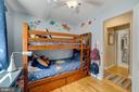 Bedroom #3 - Ceiling Fan & Overhead Lighting! - 7326 RONALD ST, FALLS CHURCH