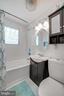 Full Bathroom #1 - Updated Storage Cabinet! - 7326 RONALD ST, FALLS CHURCH