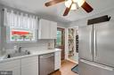 Kitchen - Window Over Sink Allows for Great Views! - 7326 RONALD ST, FALLS CHURCH