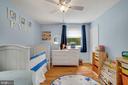 Bedroom #2 - Super Light, Bright, & Airy! - 7326 RONALD ST, FALLS CHURCH
