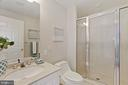 Another full bath - 5630 WISCONSIN AVE #905, CHEVY CHASE