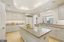 Another kitchen perspective - 5630 WISCONSIN AVE #905, CHEVY CHASE